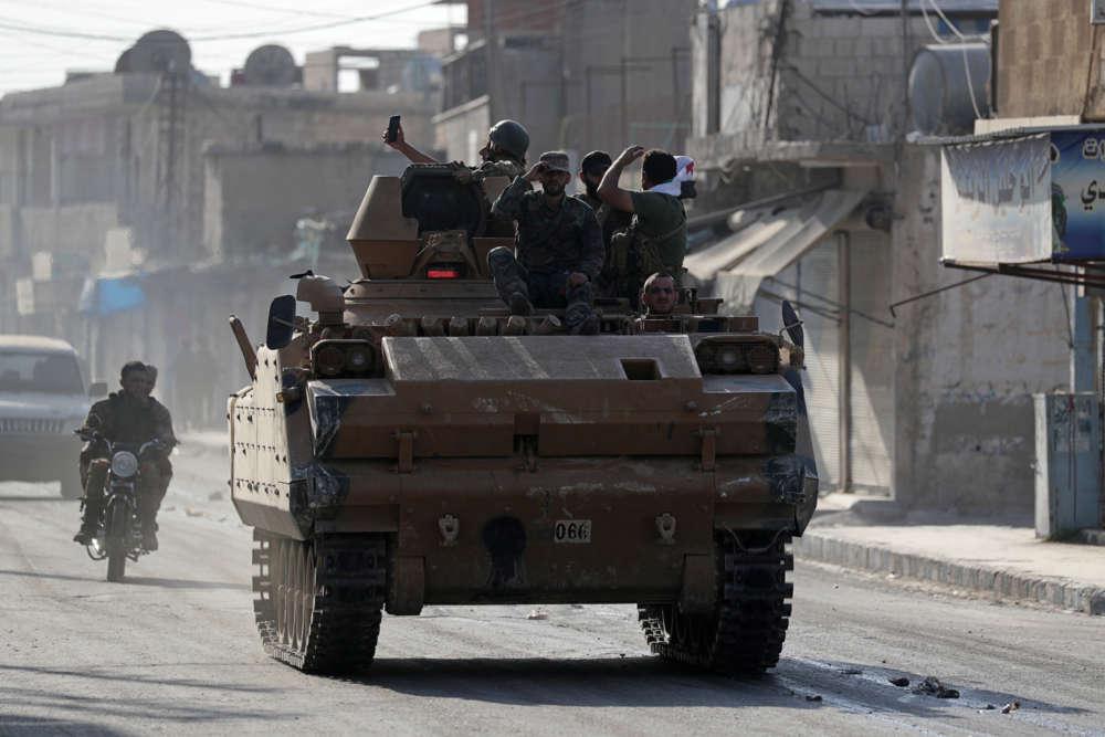 France says securing military in Syria as U.S. begins withdrawal