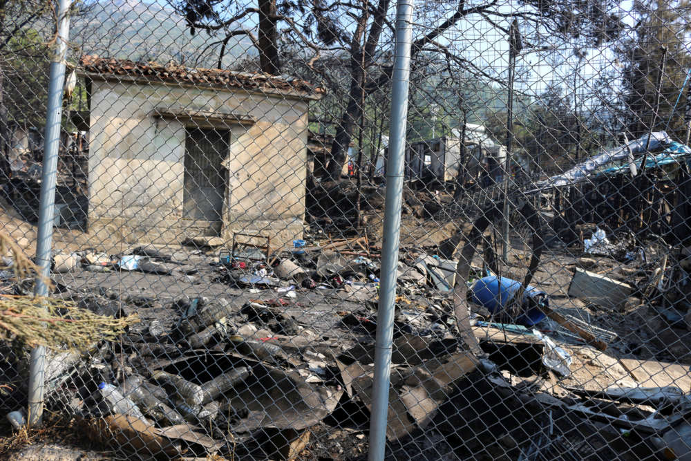 Greek island residents protest over migrant camps and conditions