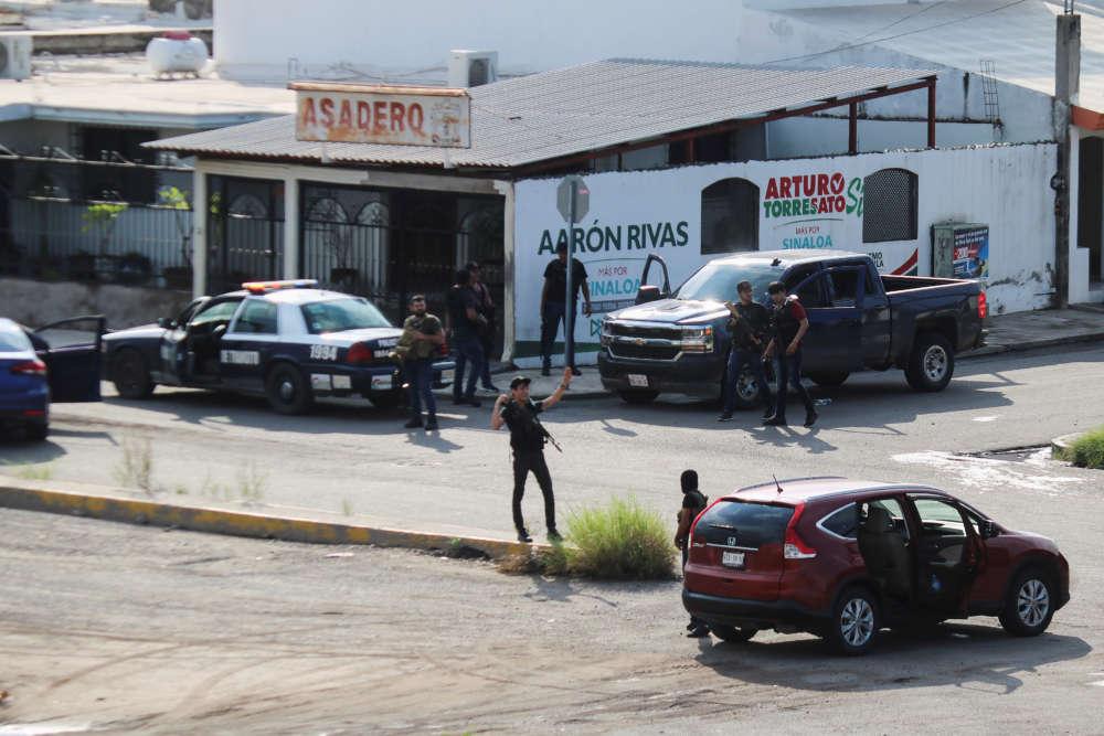 Cartel gunmen terrorise Mexican city