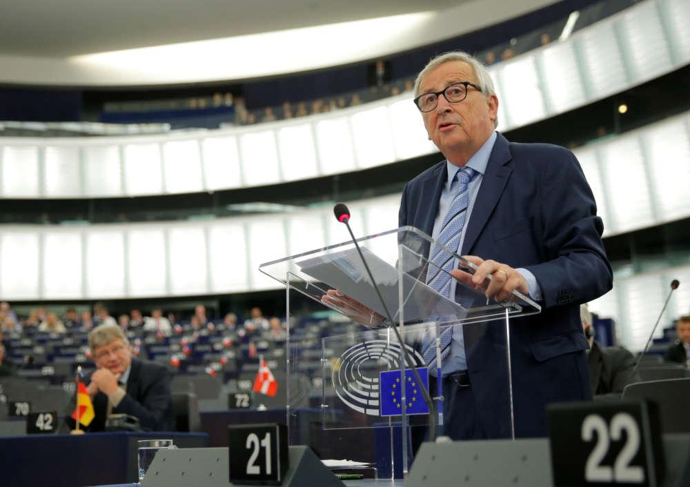 EU's Juncker brands Brexit a