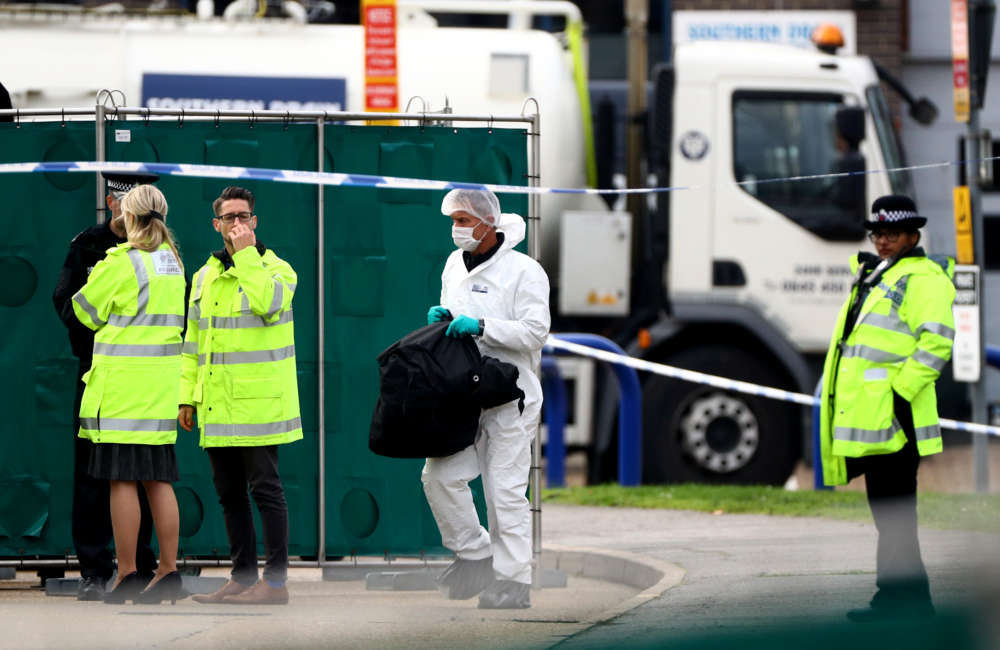 Victims found dead in truck in UK were Chinese - ITV News