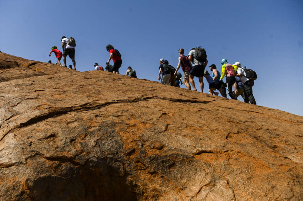 Australia's Uluru opens to climbers for last time ahead of ban