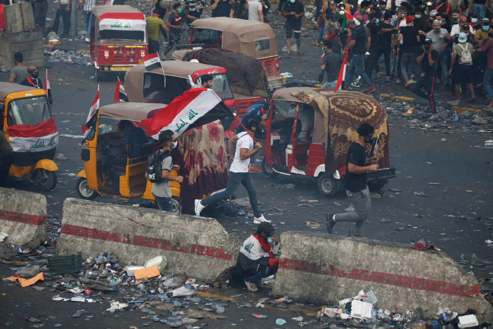 At least 17 protesters die overnight in renewed Iraq unrest