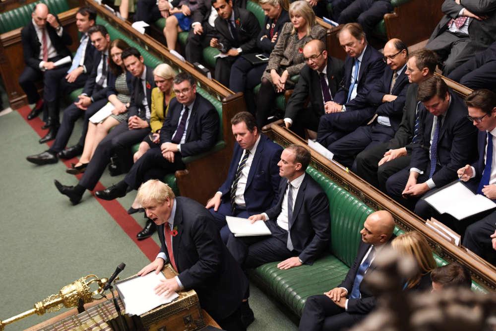 Britain set for Dec. 12 election to break the Brexit deadlock