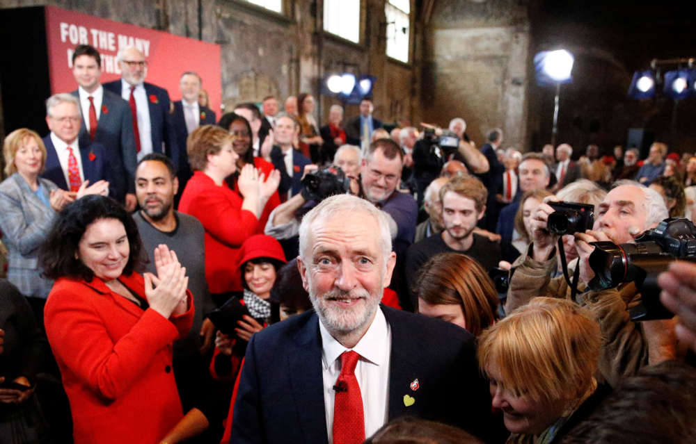 Trump says UK Labour leader Corbyn would be