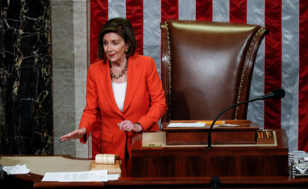Pelosi instructs House panel to draft articles of Trump impeachment