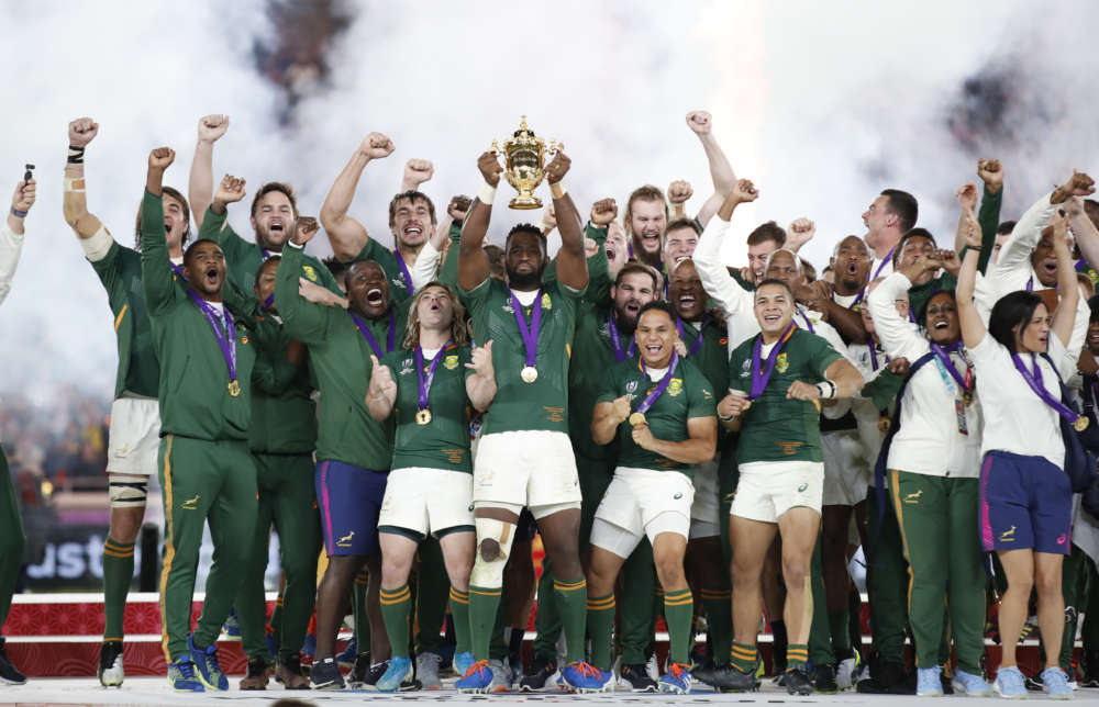 Rugby-Powerpacked South Africa dominate England to win third World Cup (photos)
