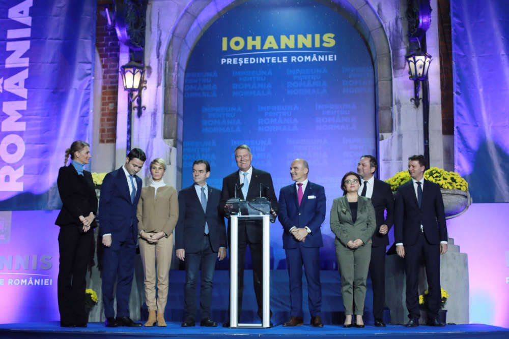 Romania's Iohannis hopes for new presidential term to boost rule of law