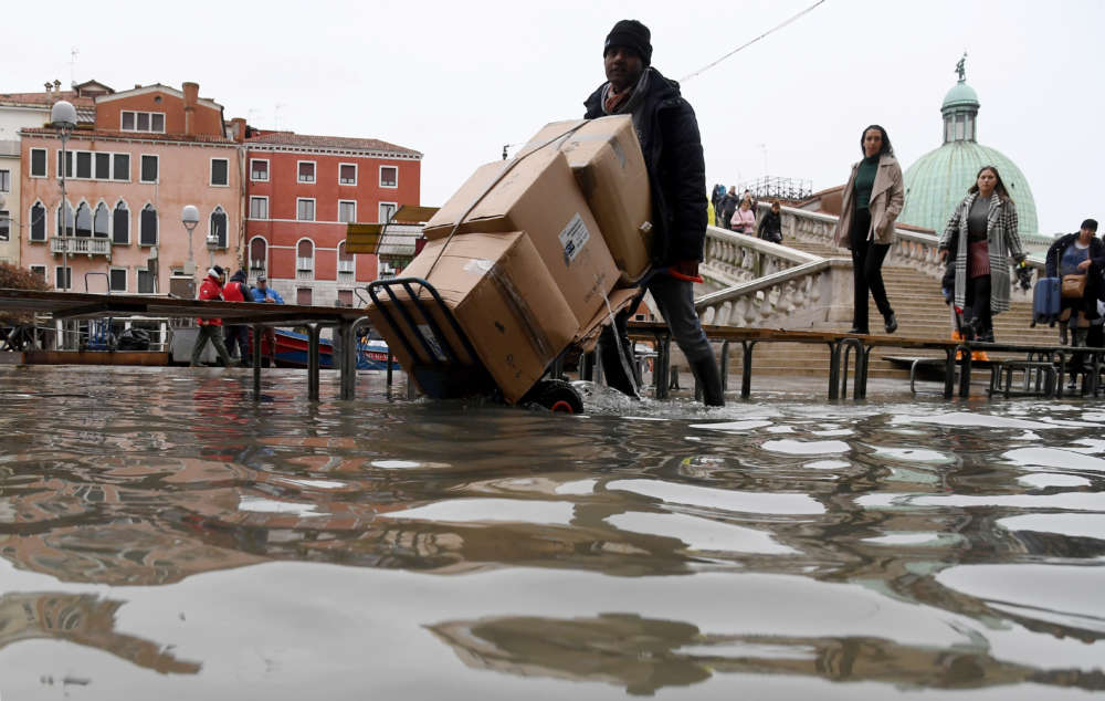 Italy battered by rain