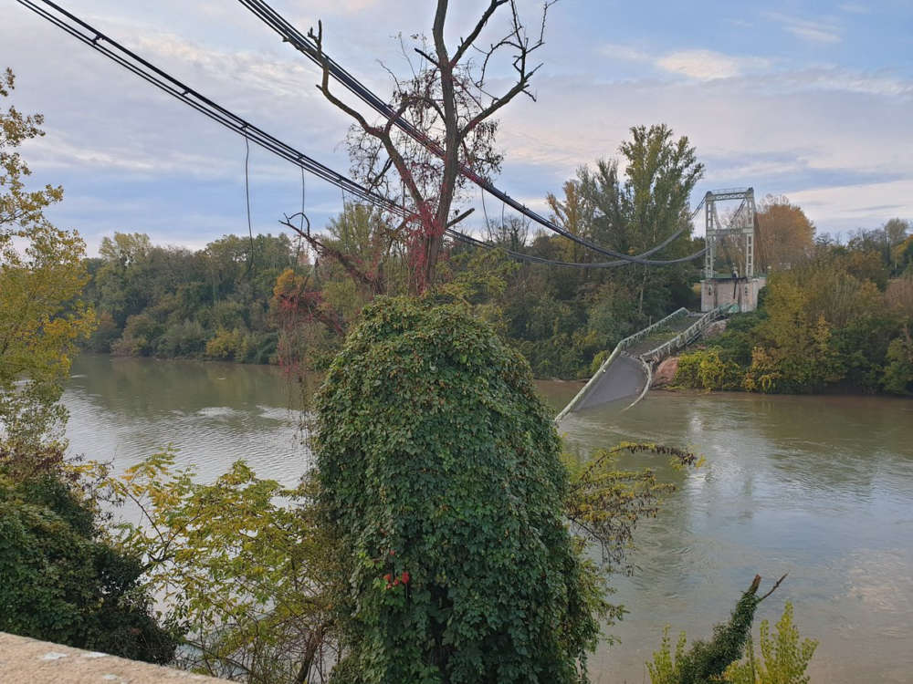 Two dead after bridge collapses into river in France