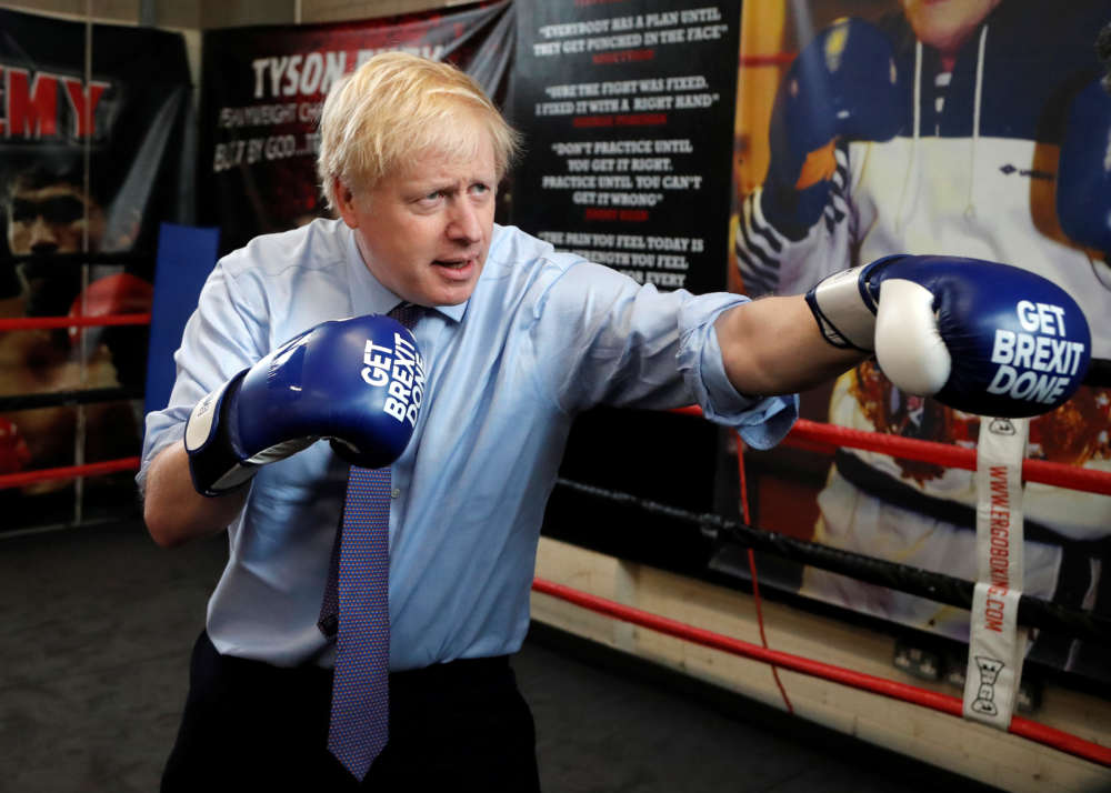 British PM Johnson will probably win this uninspiring election