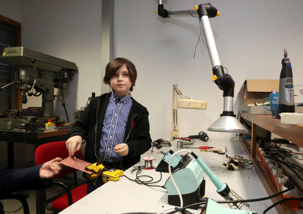 Belgian boy on track to become world's youngest university graduate