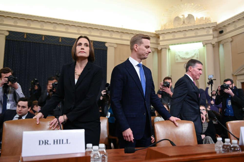 Former Trump aide calls Ukraine meddling theory fiction