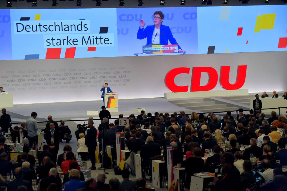 Germany's Kramp-Karrenbauer stands by coalition after SPD vote