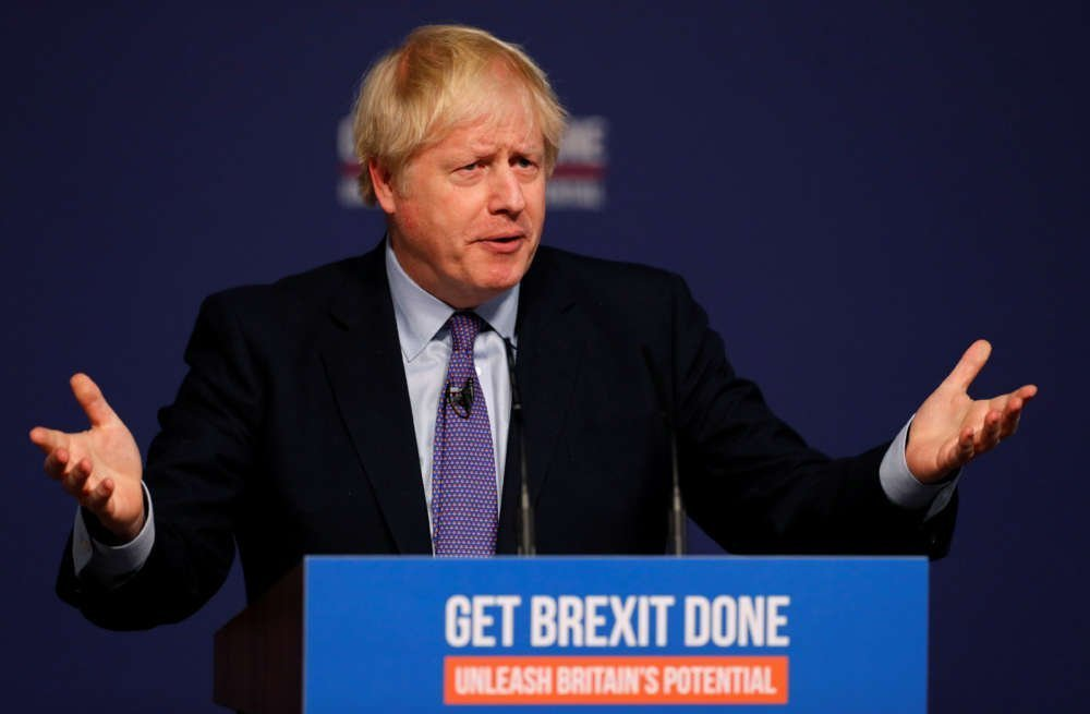 UK's Johnson promises Brexit for Christmas in manifesto