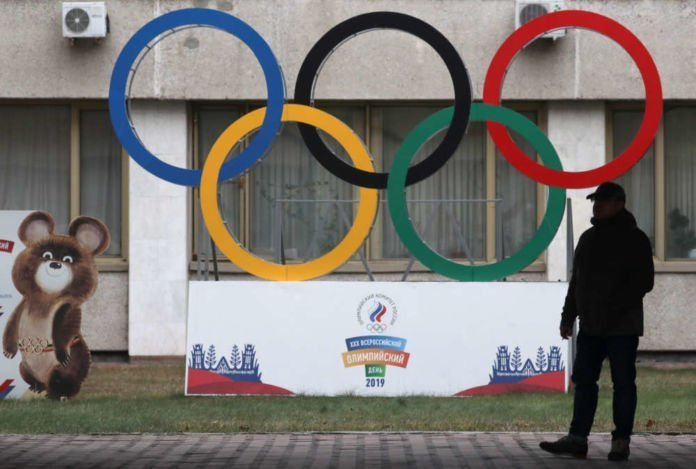 Russia banned from Olympics