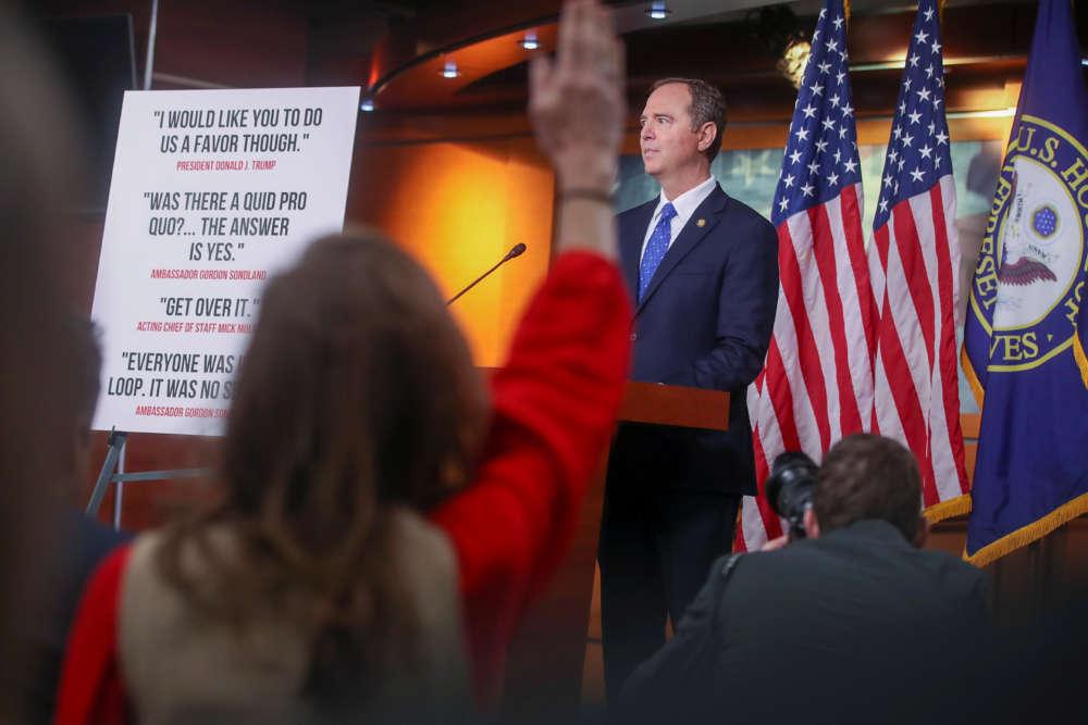 Trump nemesis Schiff to lead Democratic team at impeachment trial