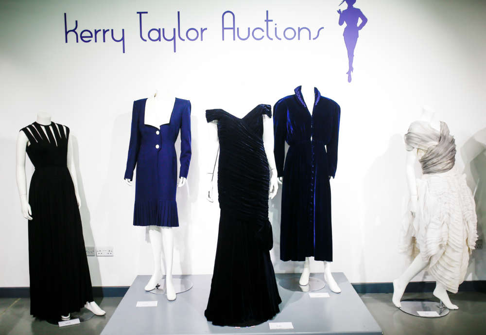 Dress Diana wore as she danced with Travolta up for auction
