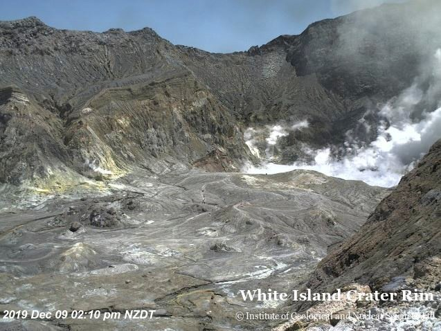 New Zealand police says at least five dead in volcano eruption (video)