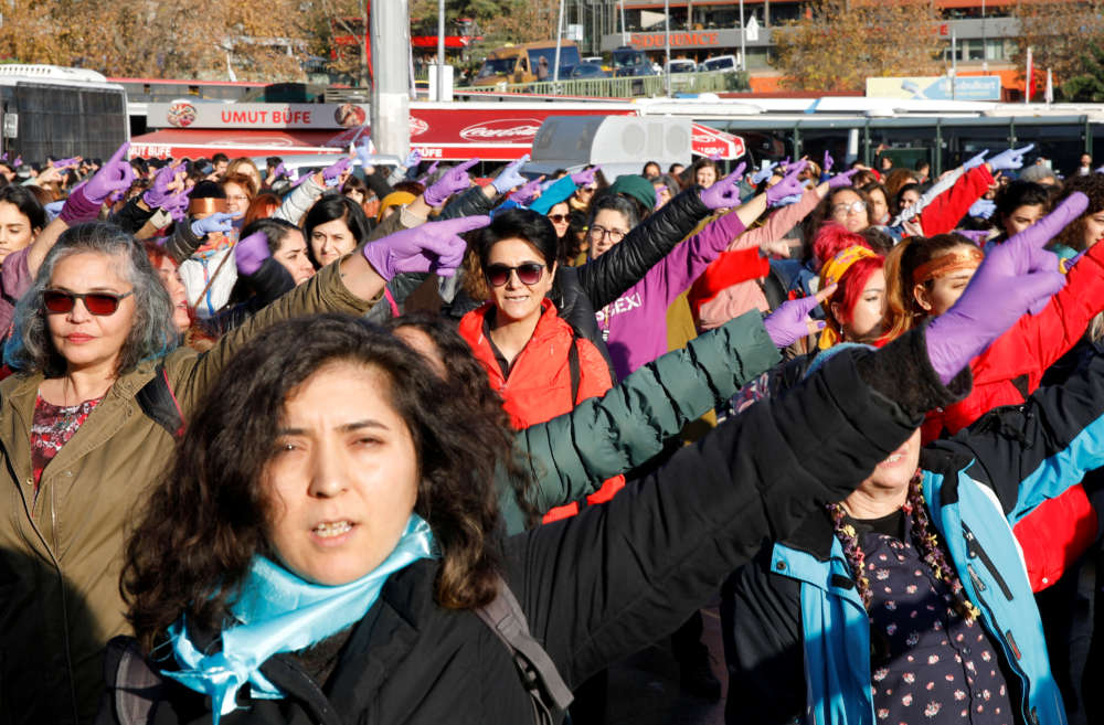 Turkish MPs sing Chilean anti-rape song to protest violence against women