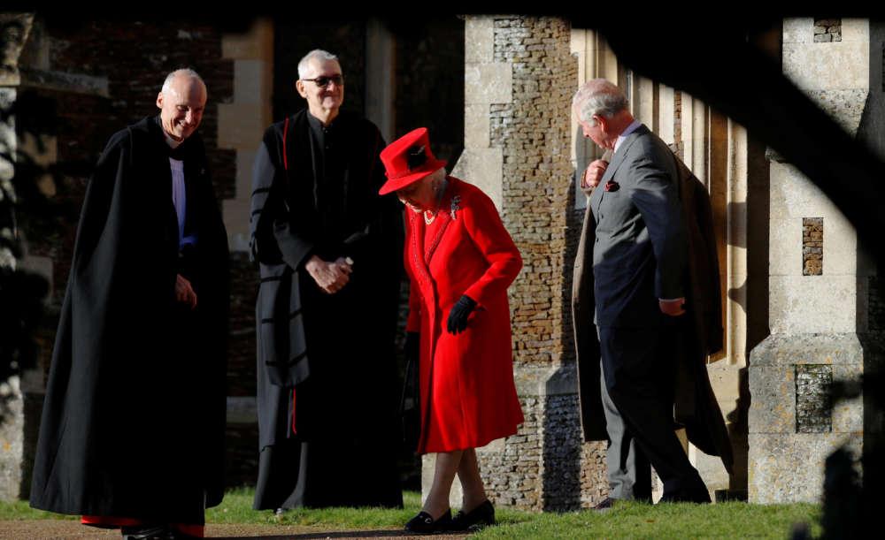 Britain's Prince Andrew skips Christmas Day walk