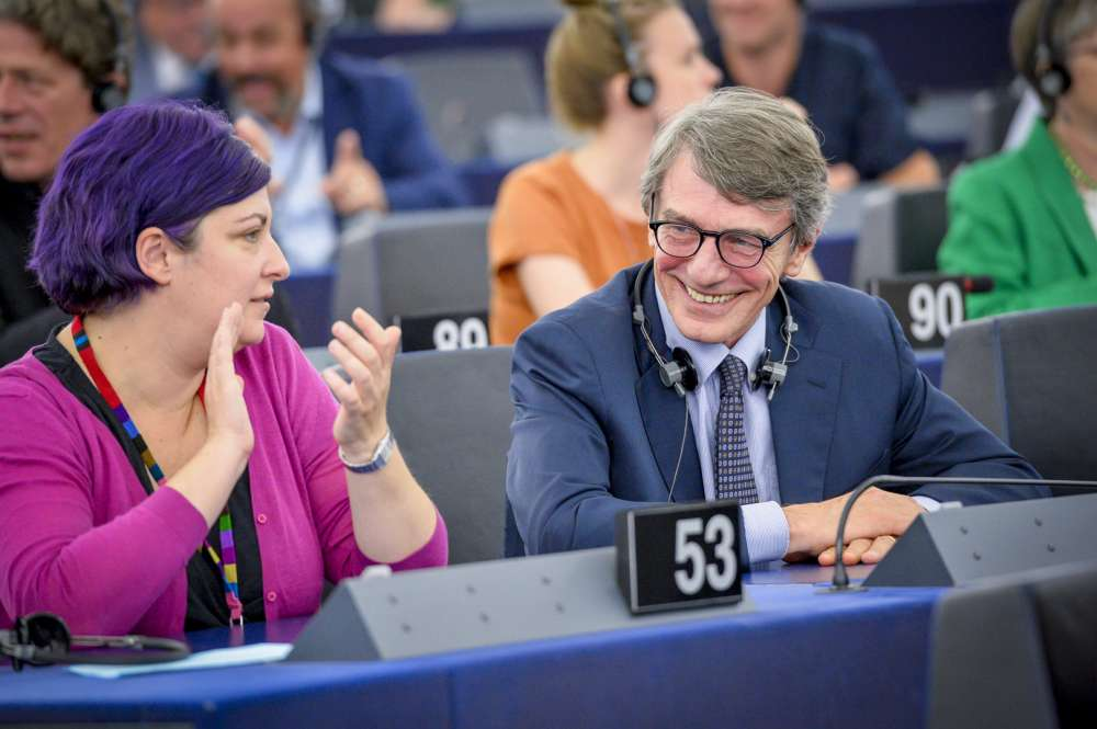 David Sassoli elected President of the European Parliament