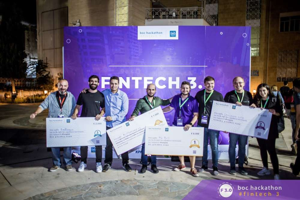 Another successful year for boc hackathon #fintech 3.0