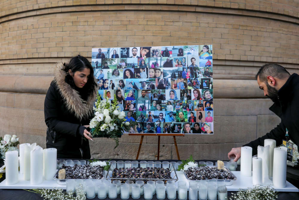 Maple Leaf CEO flays U.S. government after Iran plane crash