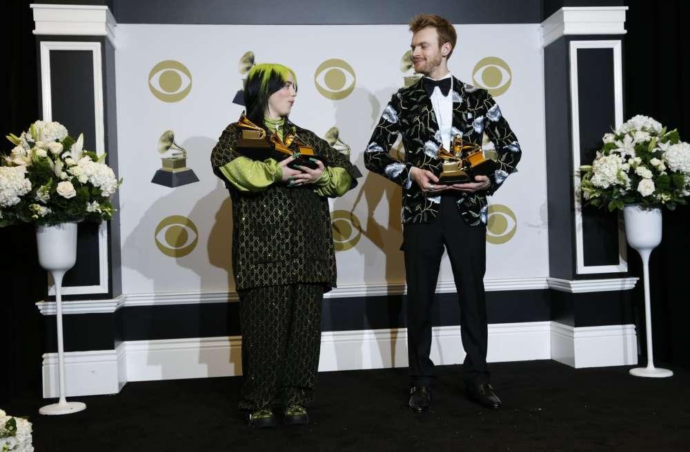 Billie Eilish sweeps Grammy Awards with top 4 prizes