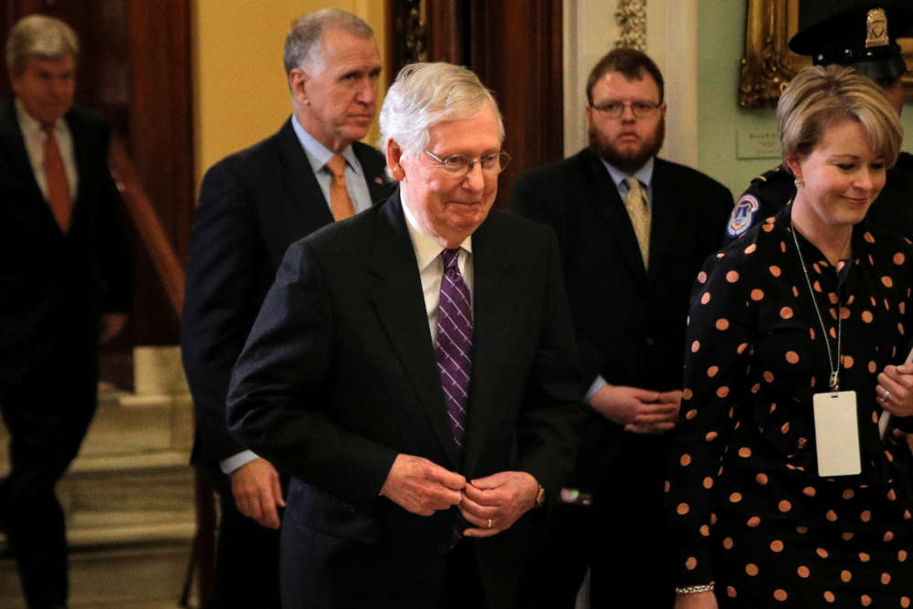 Republicans hopeful Senate will acquit Trump as early as Friday