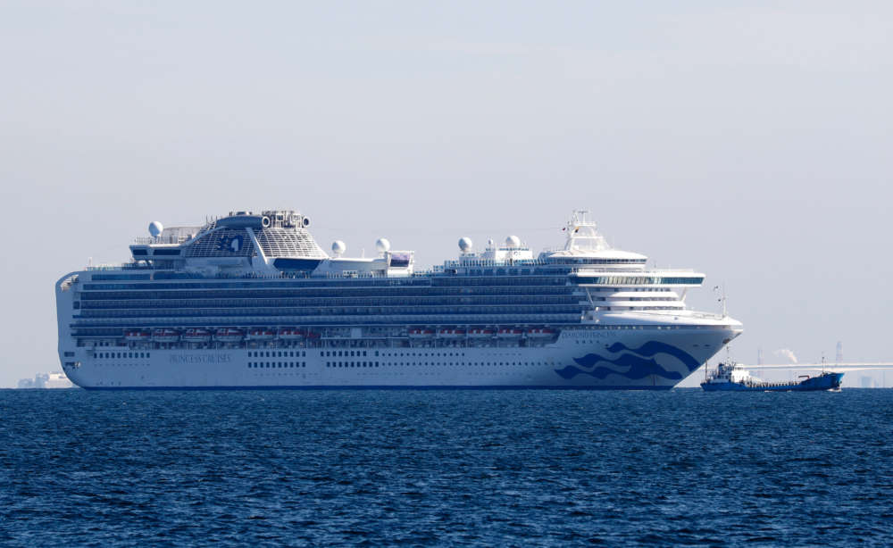 Passengers quarantined on virus-hit cruise ship off Japan