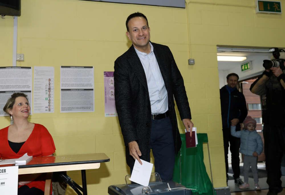 Irish vote may end Varadkar's spell as PM as Sinn Fein surges