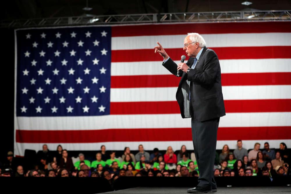 On the campaign trail: Democrats scramble for lead in New Hampshire
