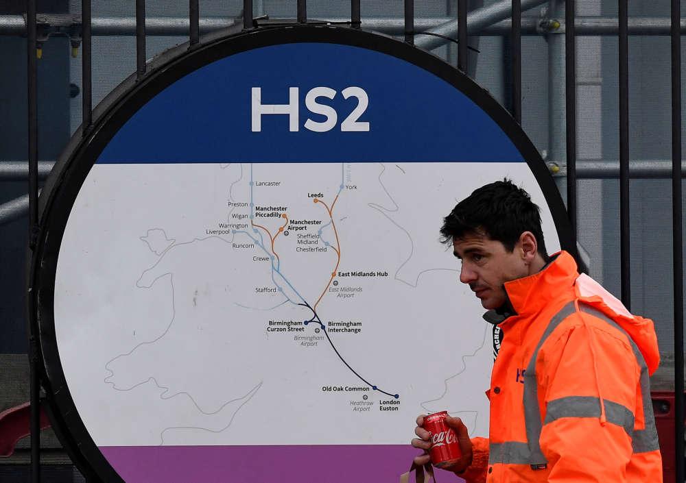 UK PM Johnson backs high speed rail project