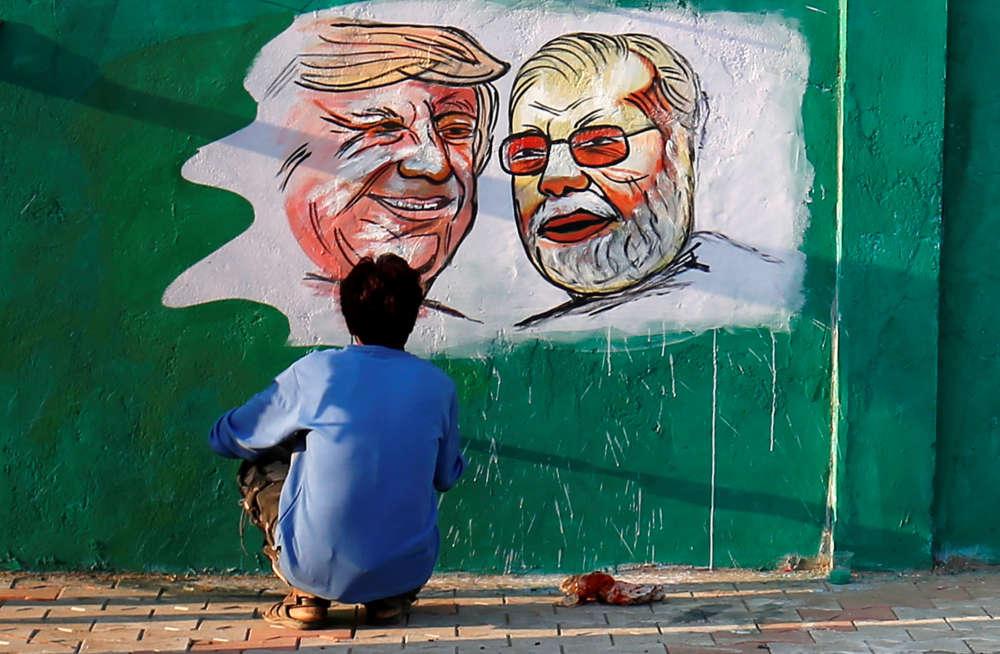 Going to India: Trump set to open world's biggest cricket stadium