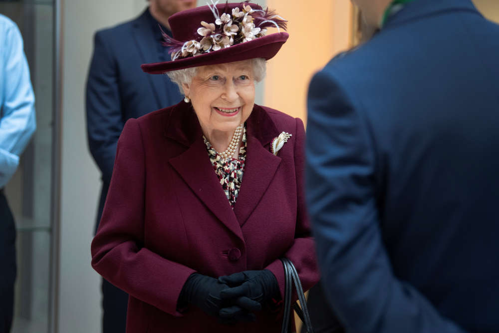 'Thank you' Queen Elizabeth tells Britain's spies
