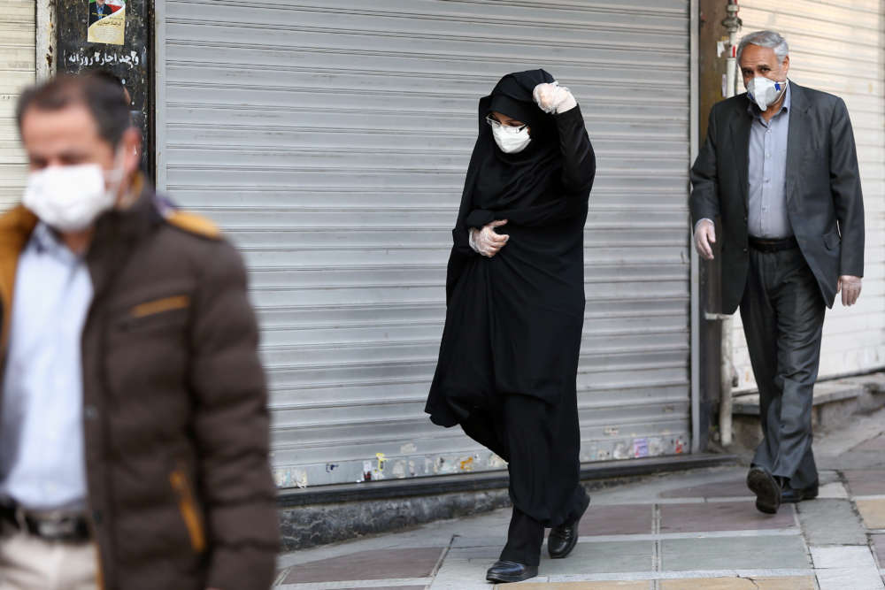 Iran's coronavirus death toll rises to 43