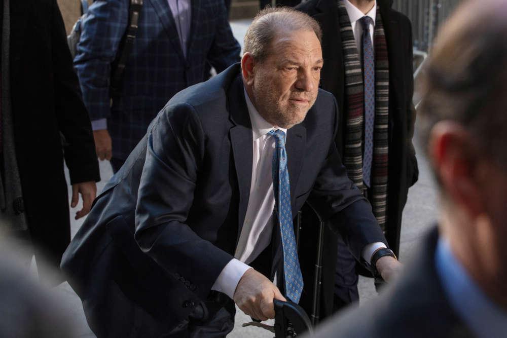 New York judge sentences unrepentant Harvey Weinstein to 23 years in prison