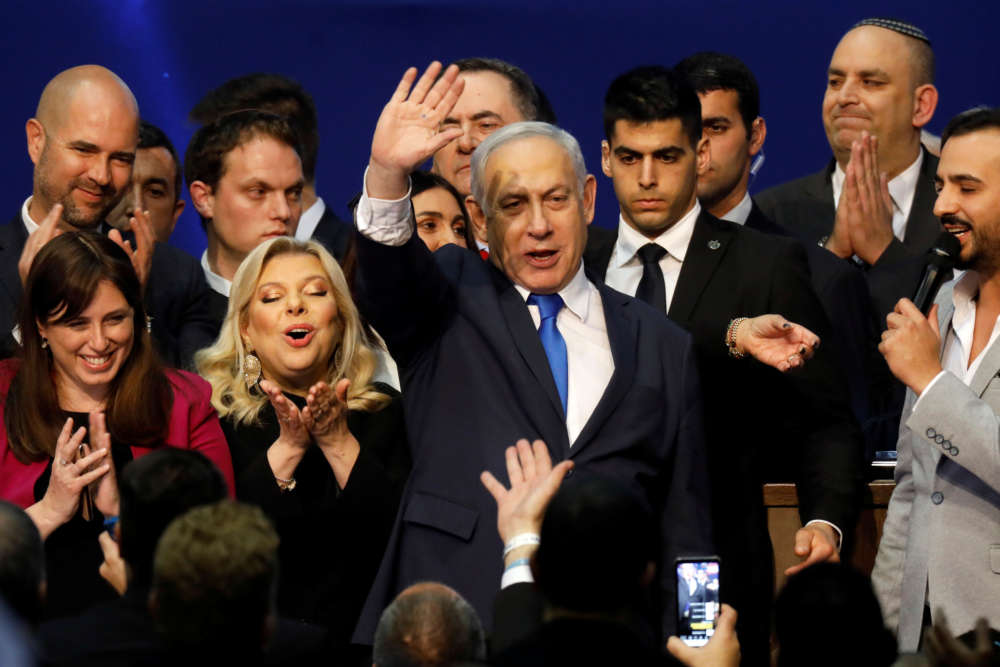 Netanyahu ahead in Israeli election