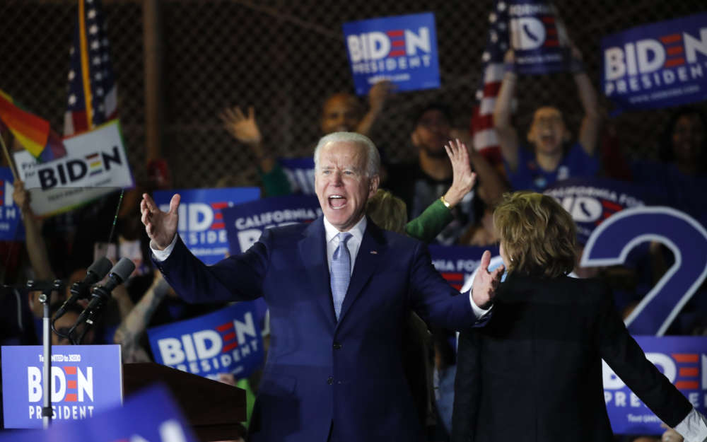 Biden has strong Super Tuesday showing