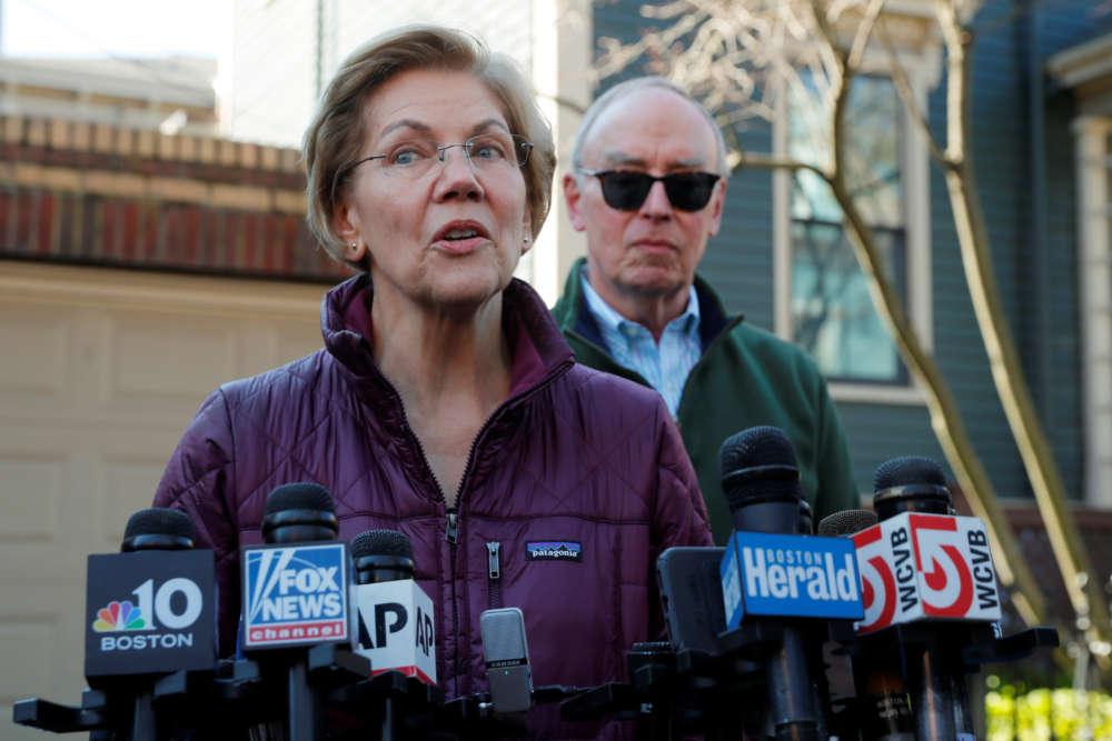 Warren ends White House bid