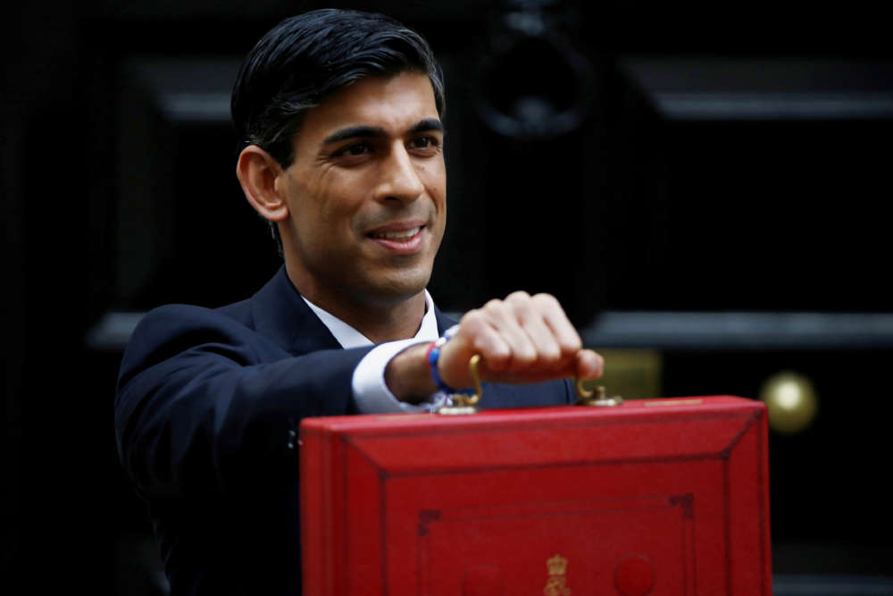 Big-spending Sunak ditches taunts and jokes in his first UK budget
