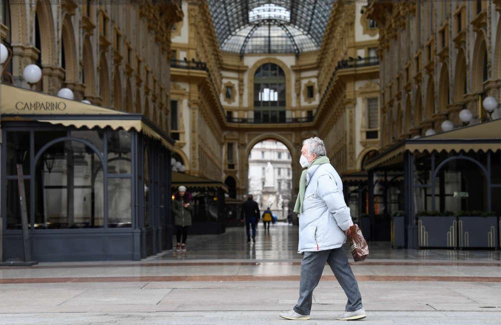 Rome airports announce shutdowns as Italy becomes coronavirus pariah