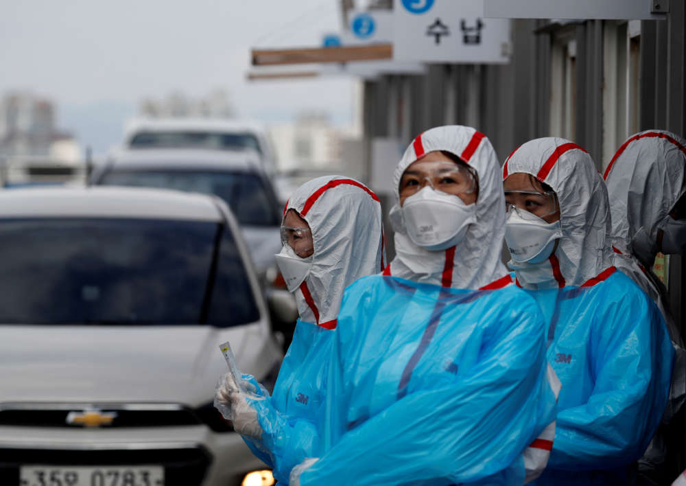 Italy and South Korea virus outbreaks reveal disparity in deaths and tactics