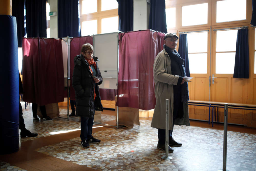 French local elections go ahead despite coronavirus restrictions; turnout lower so far