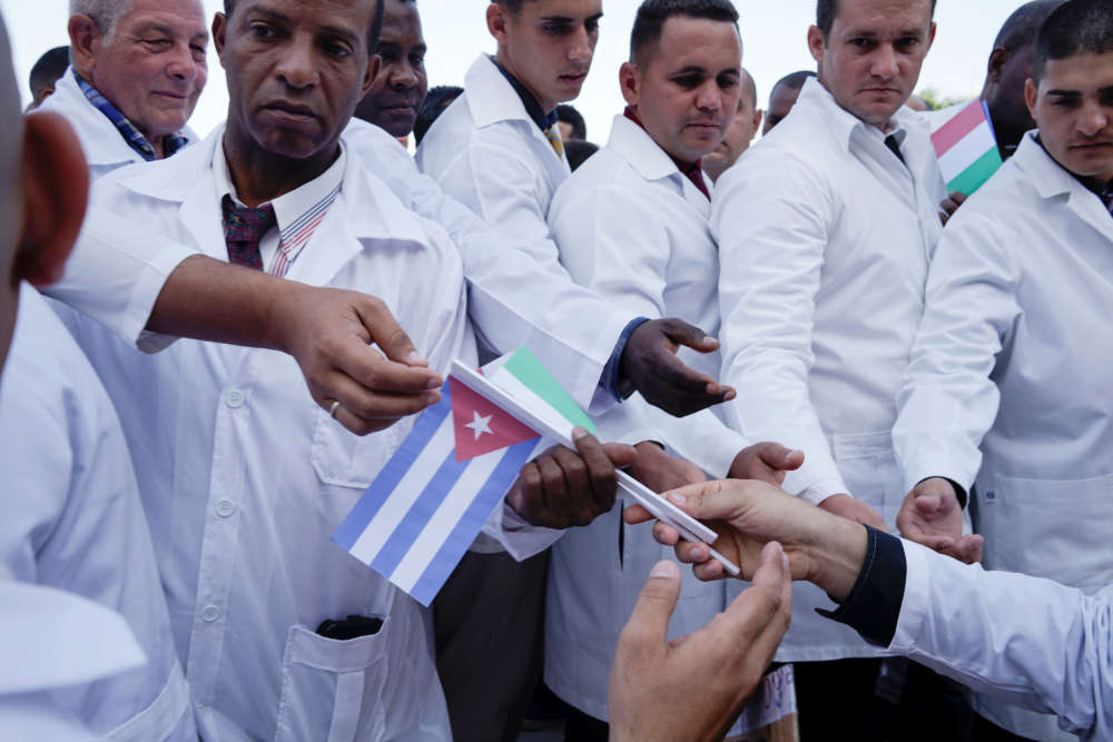 Cuban doctors head to Italy battle coronavirus