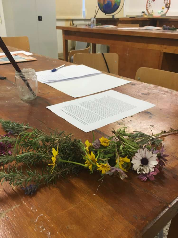 BoC Cultural Foundation workshop for children on rare wild flowers