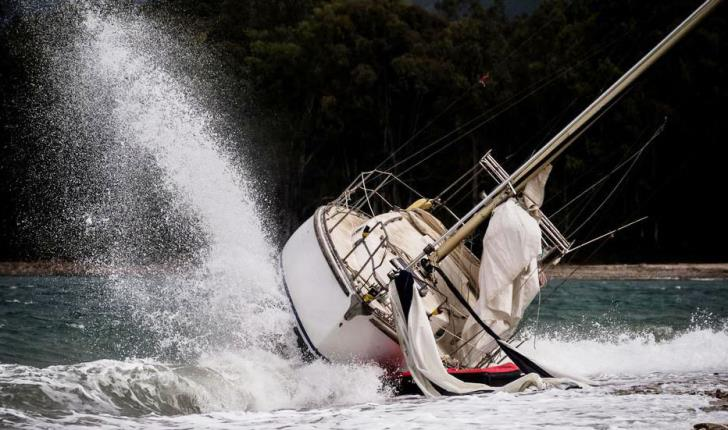 Israeli sailing boat capsizes off the Paphos coast