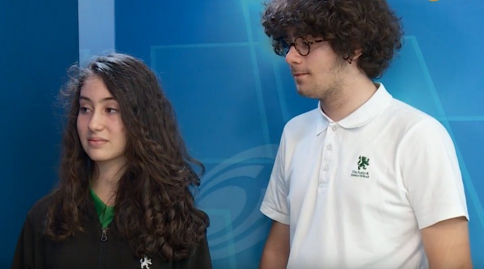 14 year-old pupils from Cyprus talk about winning NASA's challenge