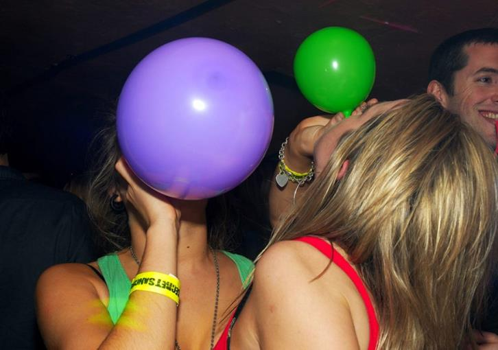 New arrest for possession of laughing gas